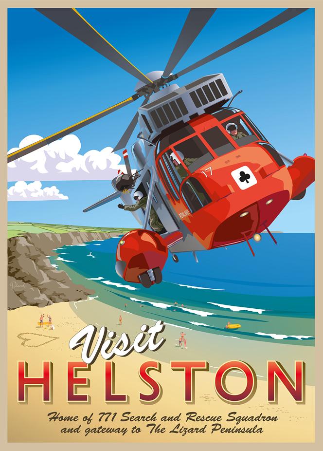 Visit Helston Poster