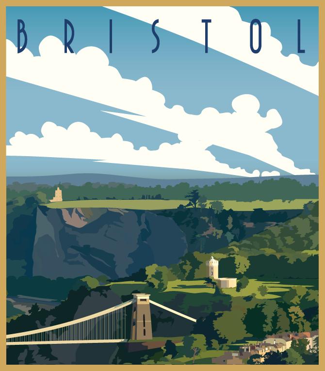 Bristol Ballooning Poster