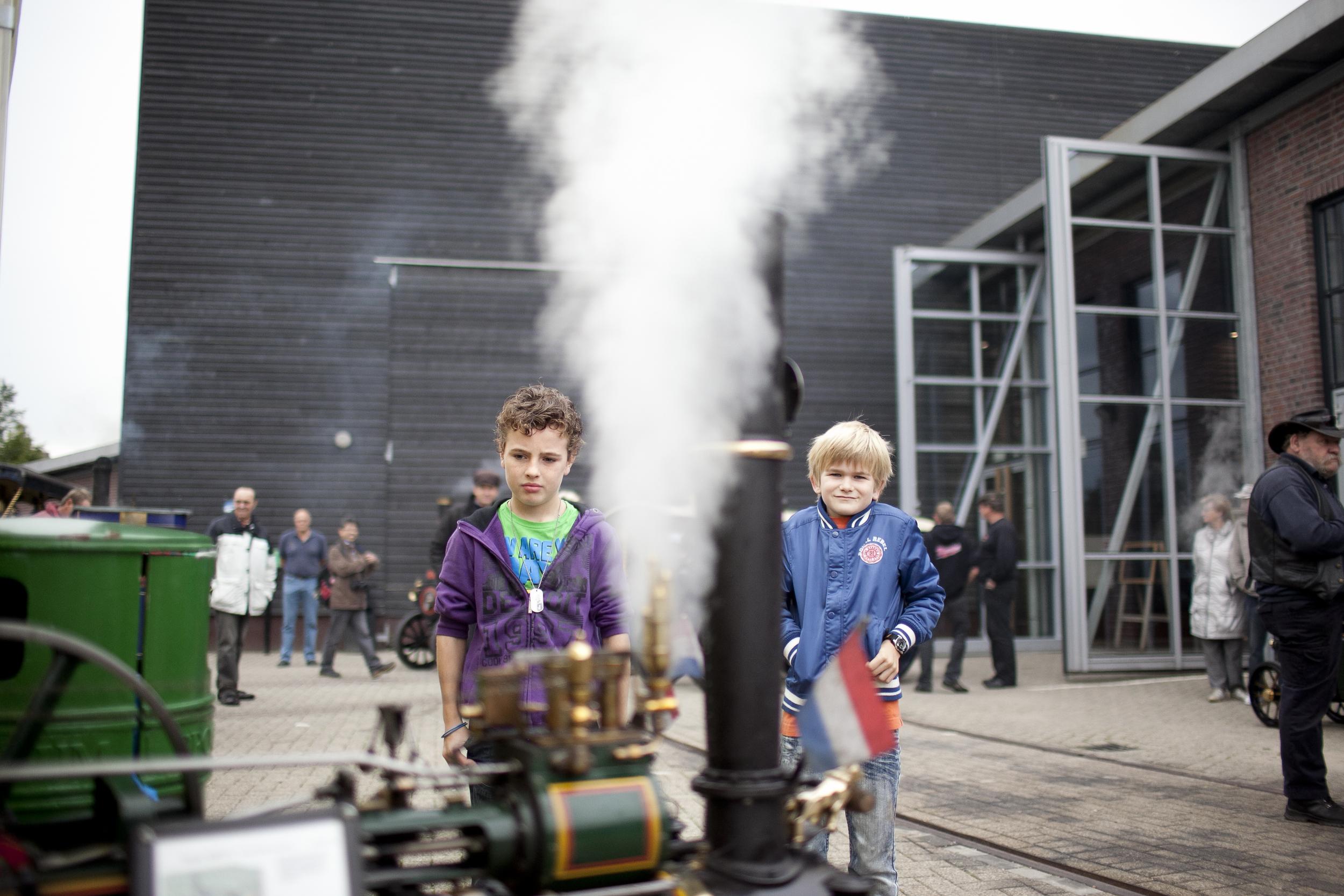 Het Spoorwegmuseum Utrecht, STOOM!