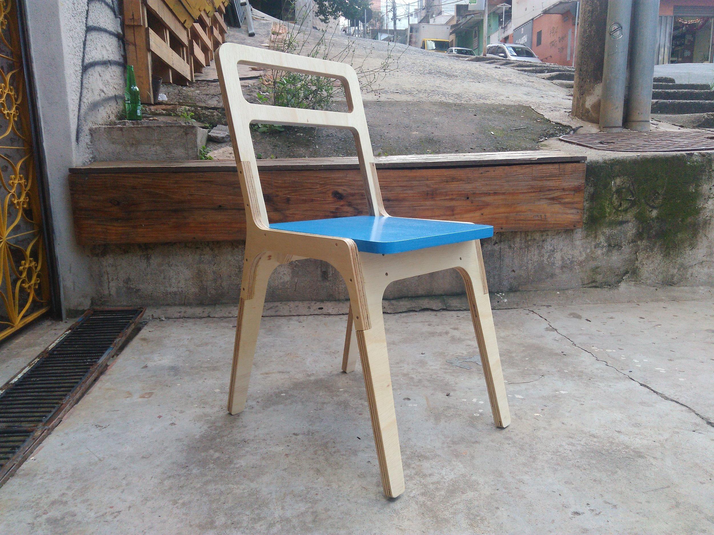 Cadeira Slim Chair de Jose Pacheco