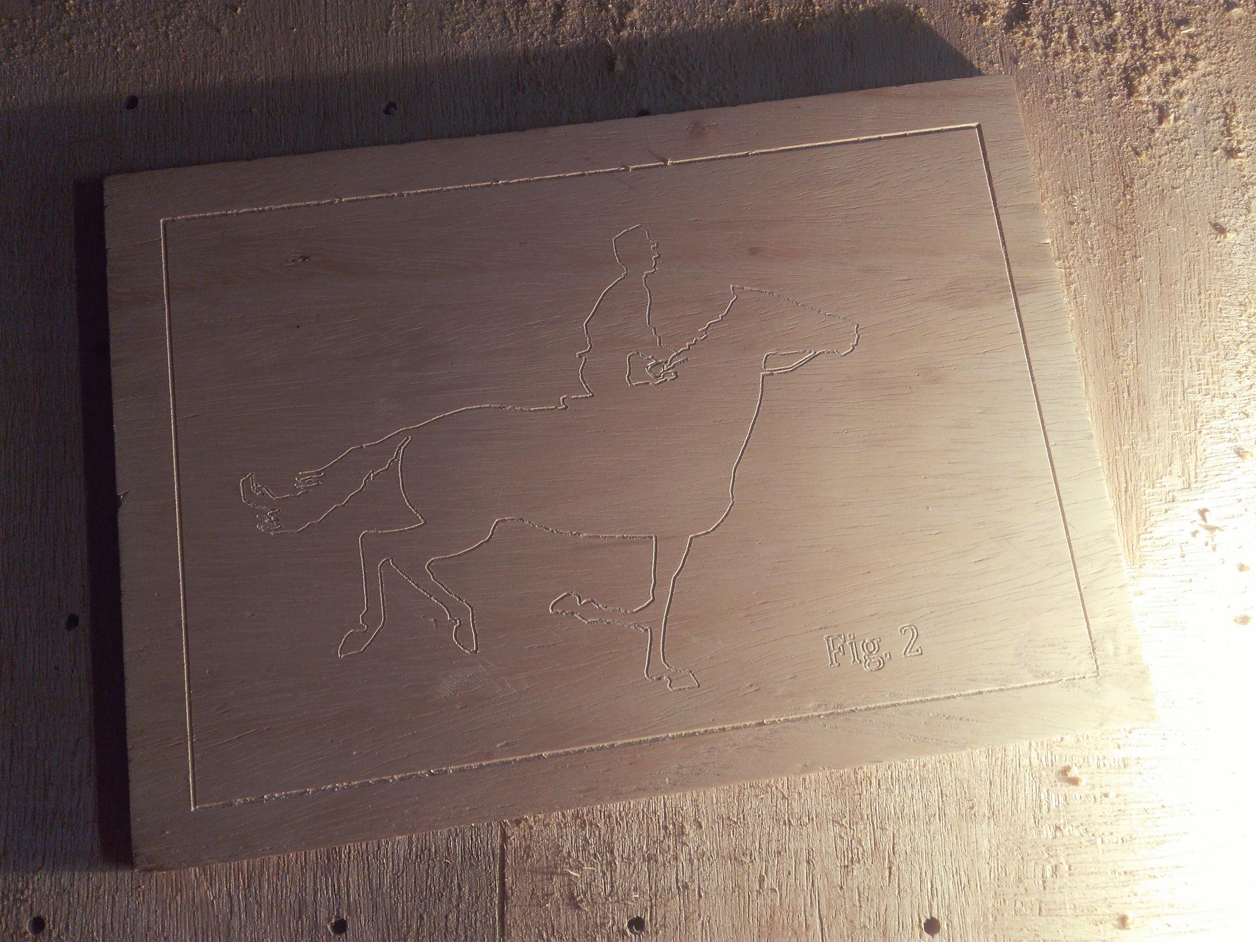 Gravação 2D - Horse In Motion (frame #1)