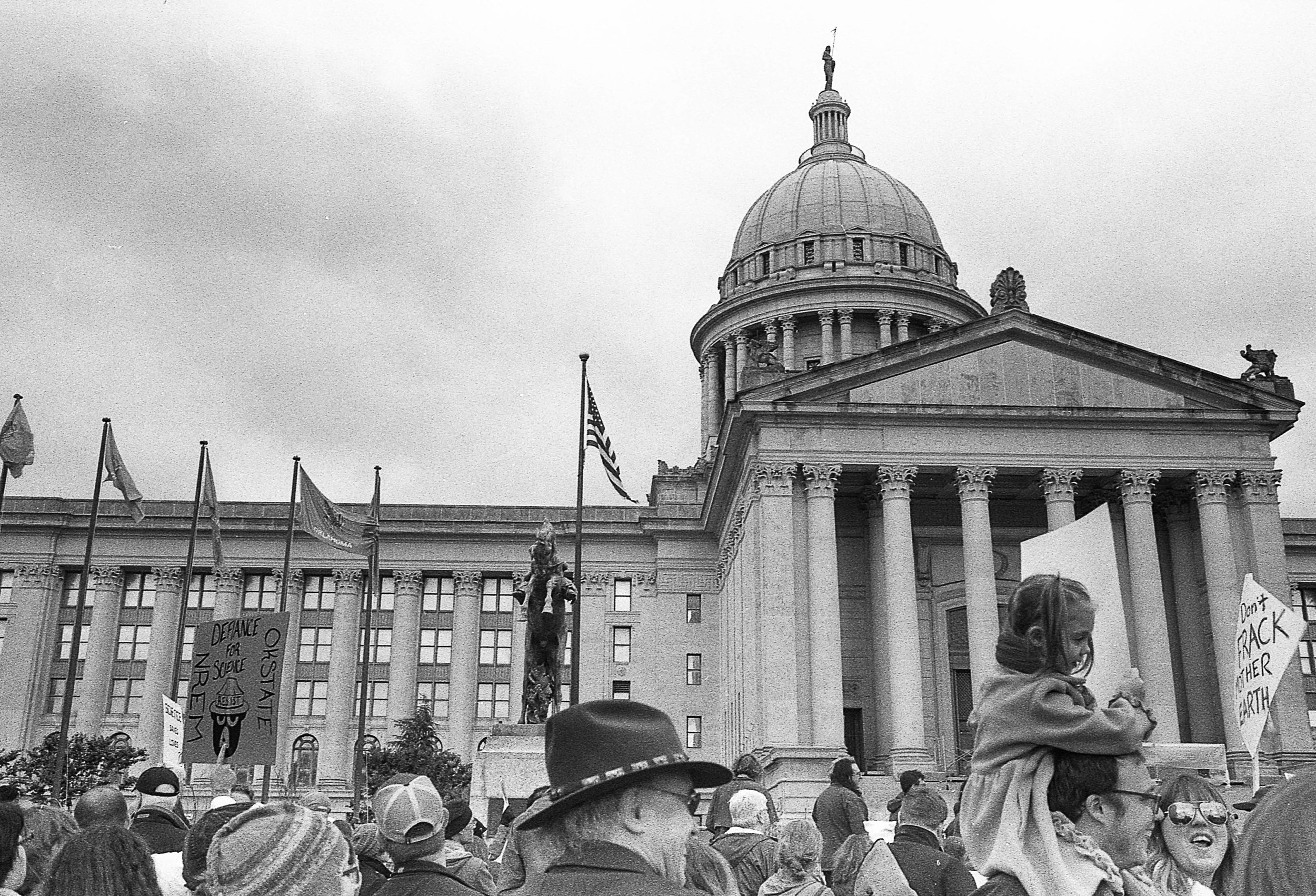 Approximately 5,000 showed up to support science at our local march in Oklahoma City. It was all but ignored by the local media, naturally.