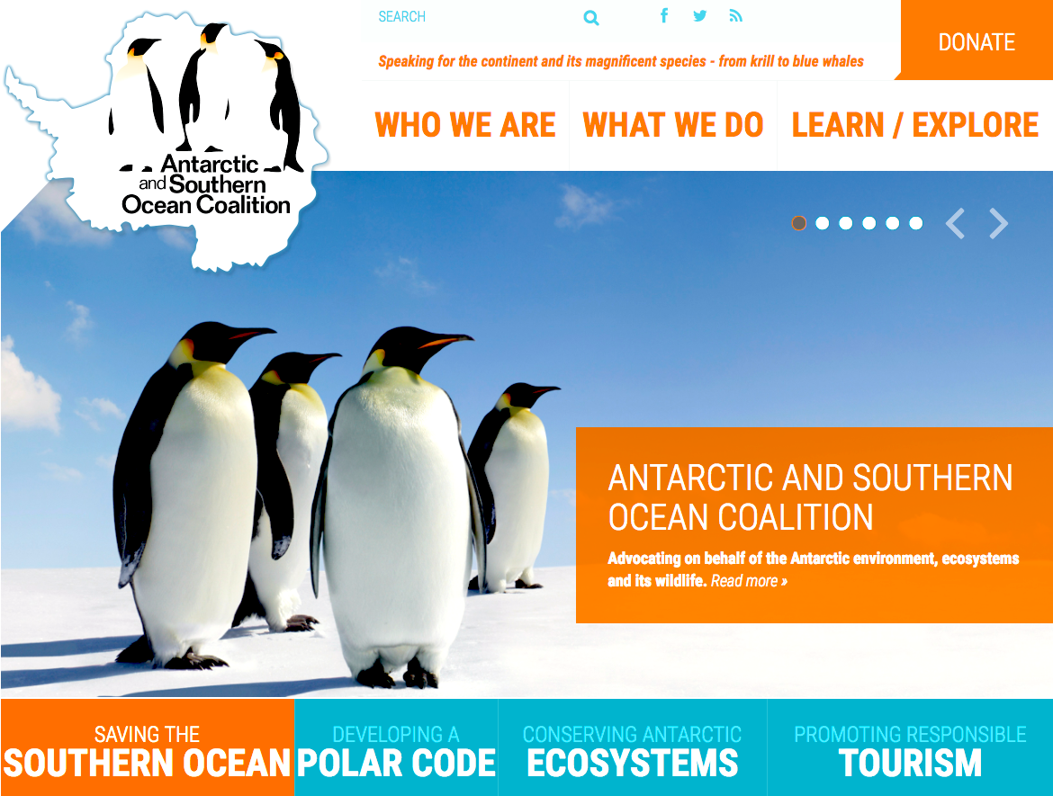 The Antarctic and Southern Ocean Coalition (ASOC) was founded in 1978 as a collaborative effort by conservation organizations from around the world to defend the integrity of Antarctic and Southern Ocean ecosystems from encroaching human activities.