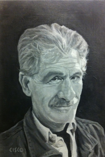 Uncle Fred - Acrylic on board