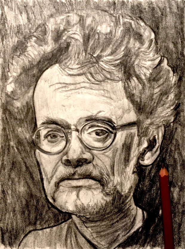 Terence McKenna - Pencil Sketch