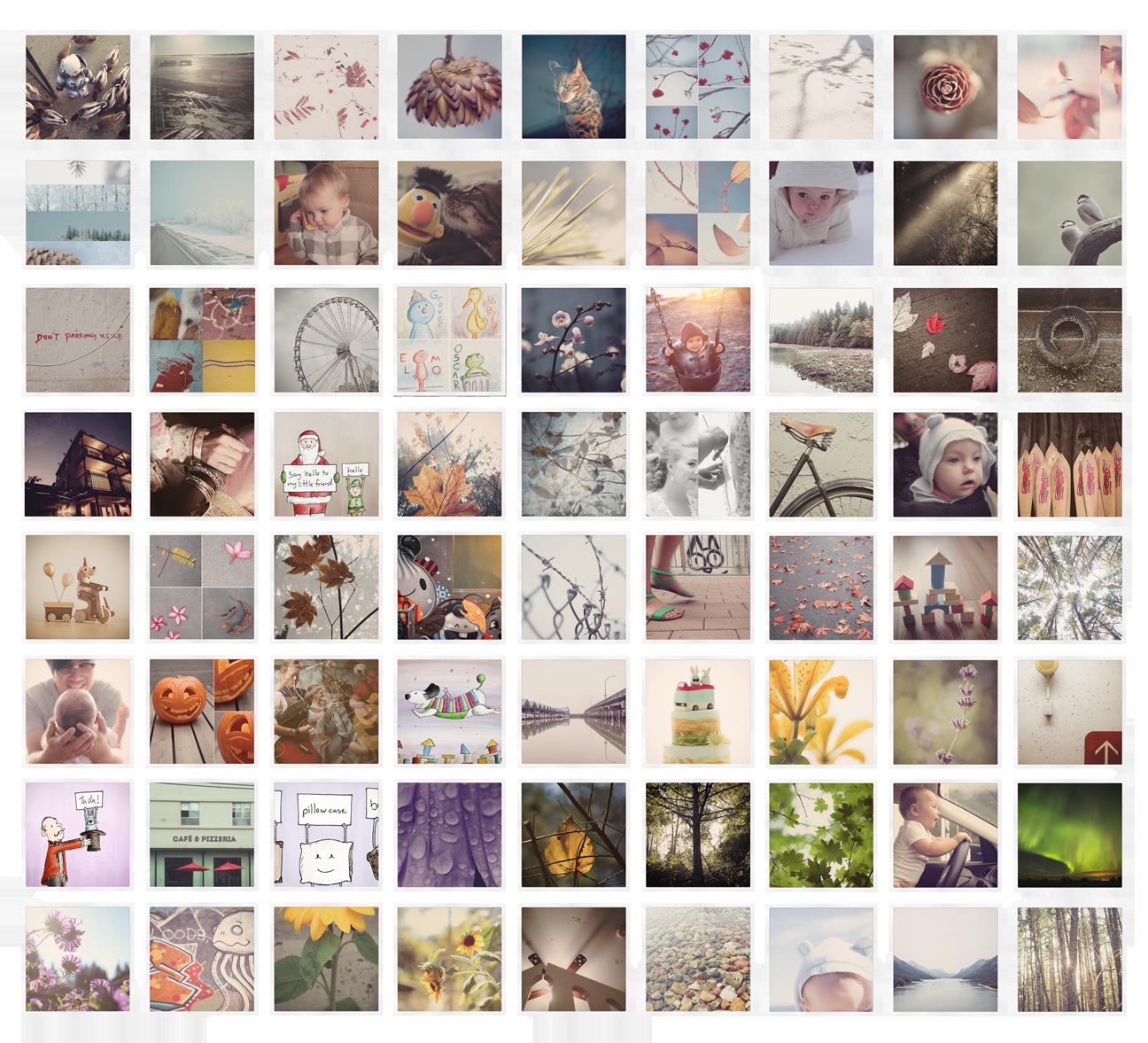 Some of my recent Instagram posts.