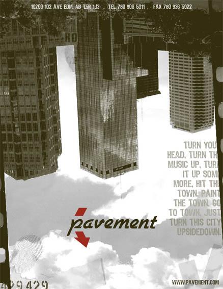 Store branding development for 'Pavement'