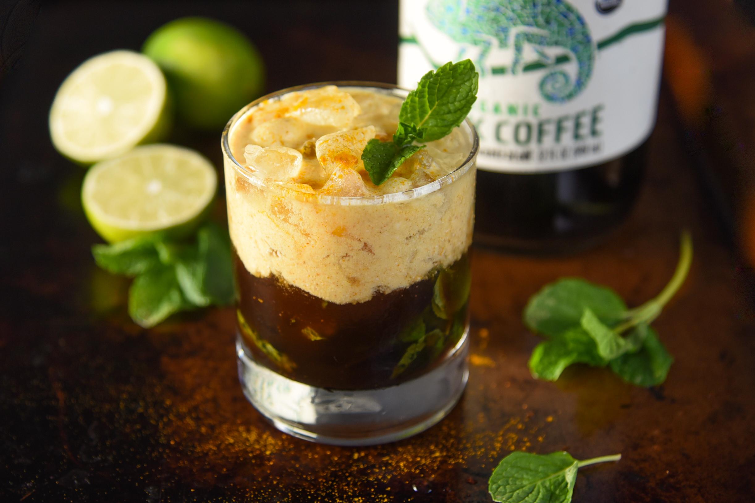 Cold-Brew Coconut Mojito