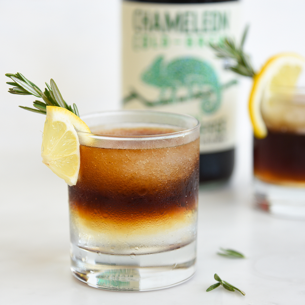 Cold-Brew Gin & Tonic