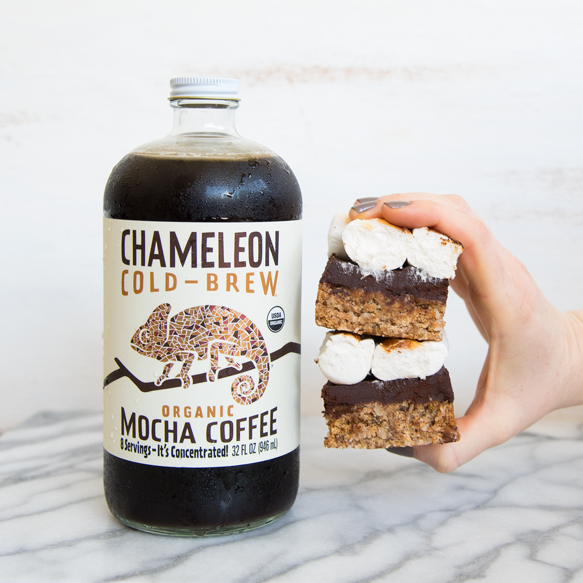 Cold-Brew S'mores Bars