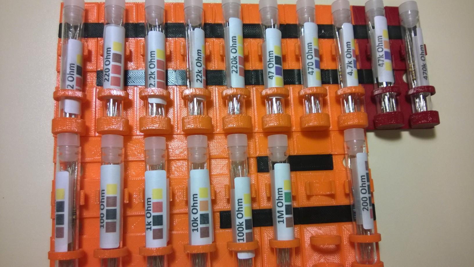 Modular Test Tube Rack