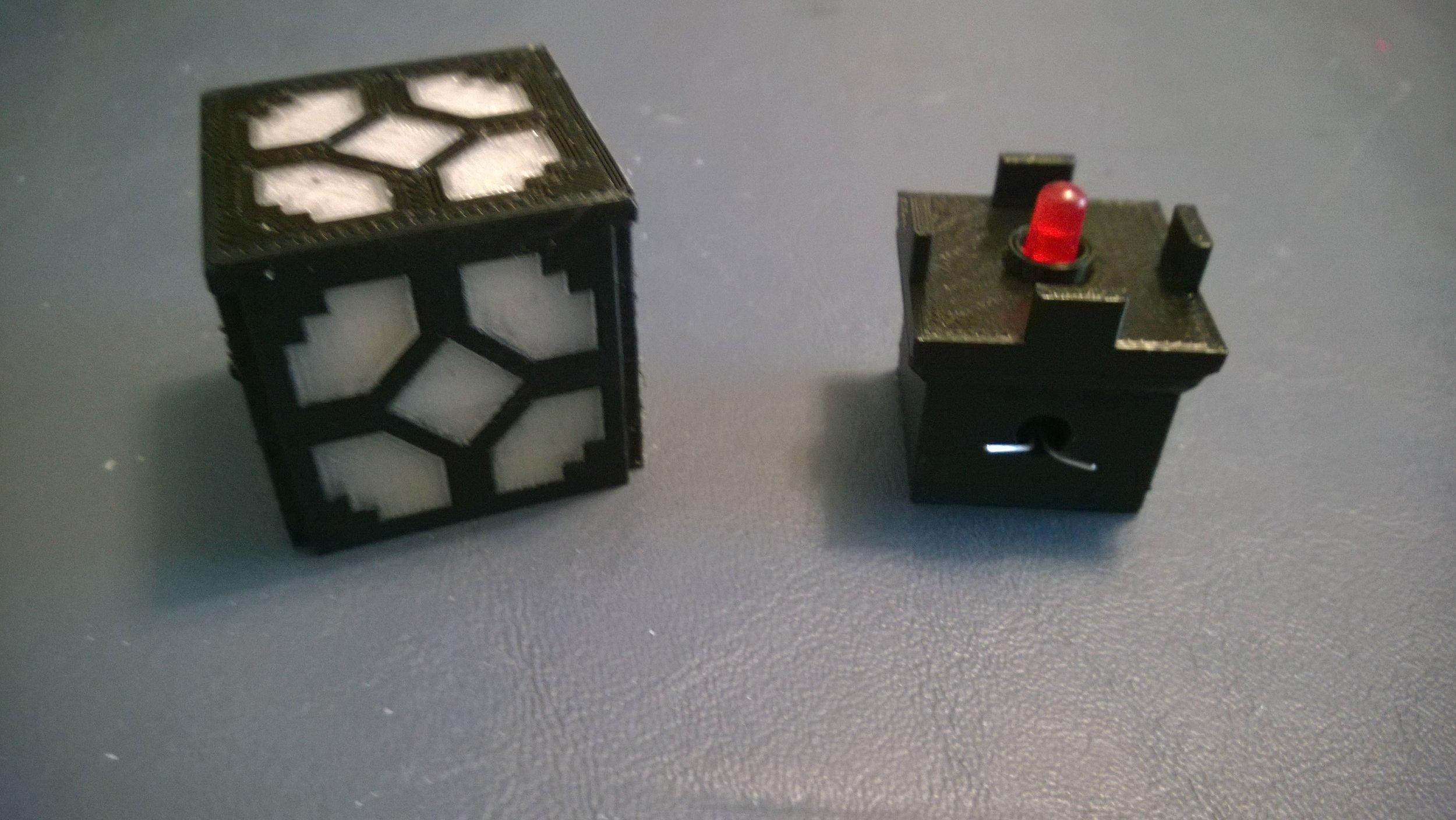 Lego Minecraft Redstone Lantern