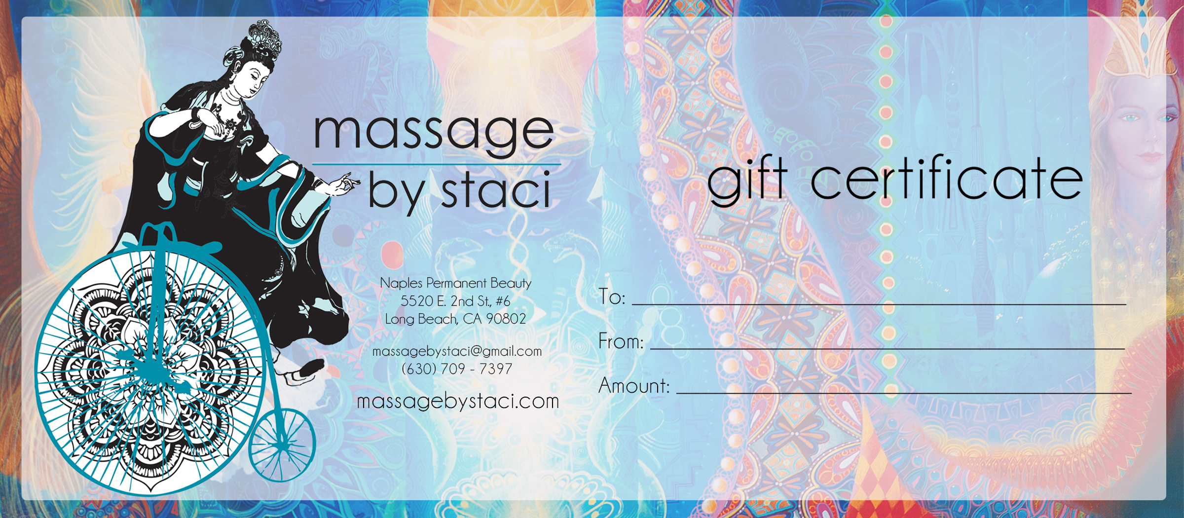 Gift certificates available! -