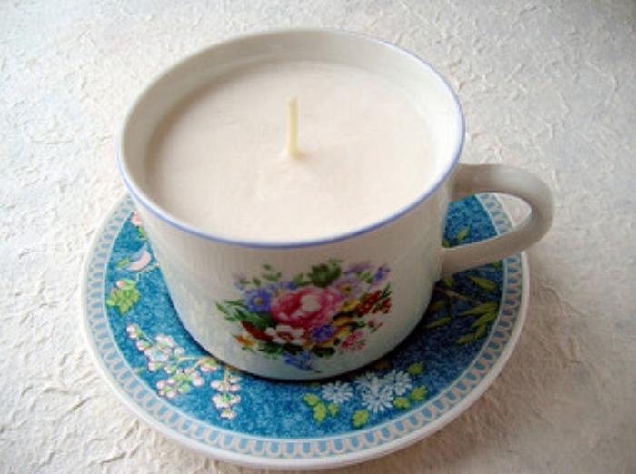 Handmade natural soya candle