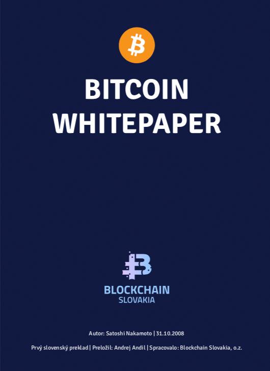 Bitcoin whitepaper (SK)