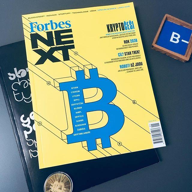 Nový Forbes NEXT opět o bitcoinu, tentokrát teda ve velkém stylu. #bitcoin #bitcoinvpraxi #cryptocurrency #crypto #btc #ethereum #mining