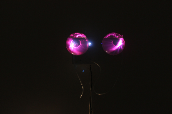 ANXIETY (Psychosomatic series)   Reactive sculpture, 2014