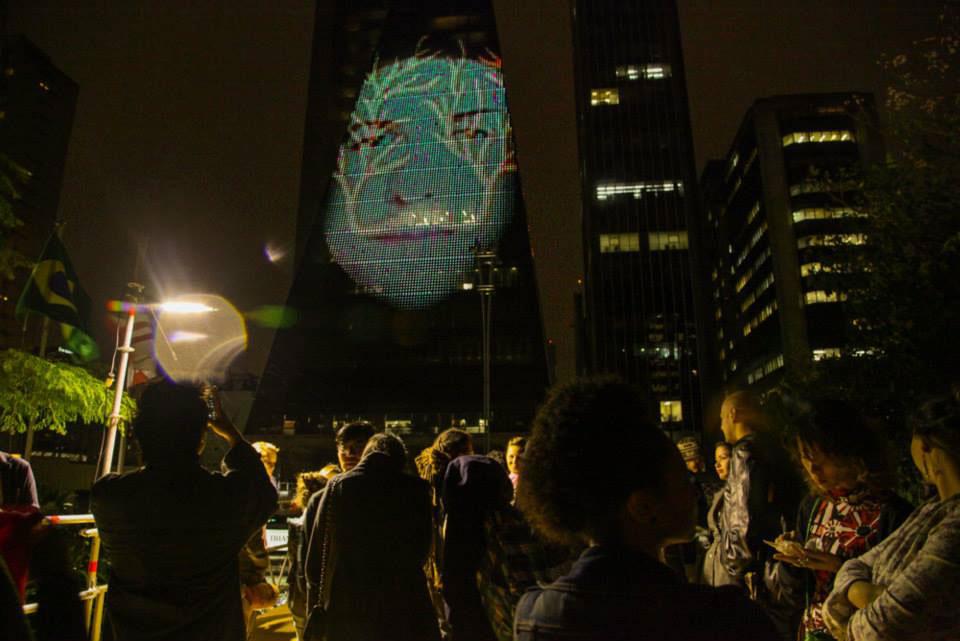 ONIRICAL REFLECTIONS FACADE   Interactive Public Artwork, 2013