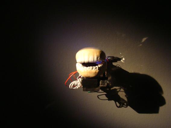 PARANOIA (Psychosomatic series)   Interactive sculpture, 2010