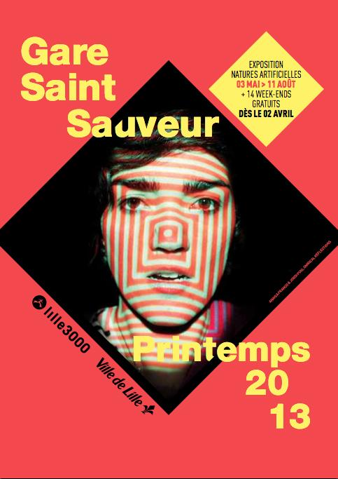 ExhibitionsGare Saint Sauveur, France, 2013.