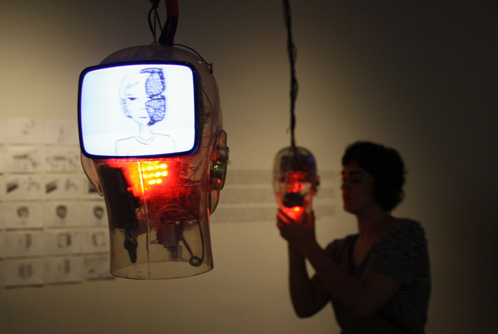 Exhibition in Foundation Francisco Godia in Barcelona during the LOOP Festival in 2010.