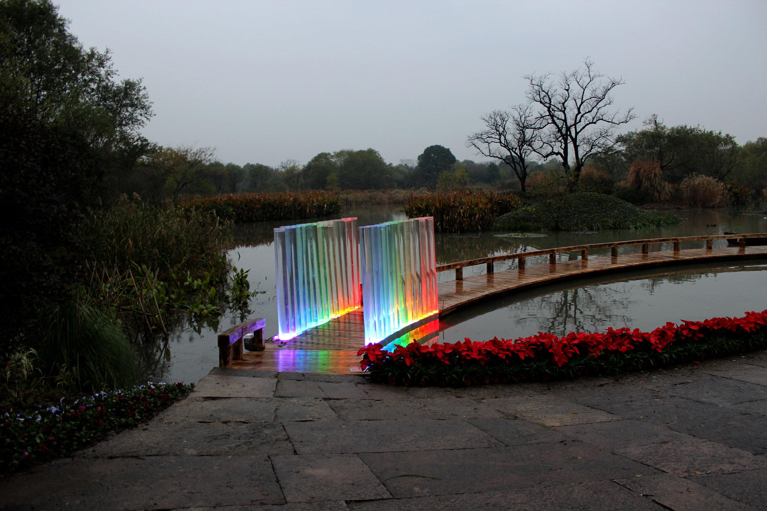WAVE OF RAINBOW   Interactive Public Artwork, 2012