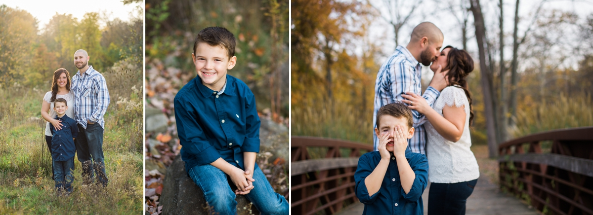 """Landon, Cindy's son had to join in on the fun too! He was they cutest little guy with one big personality. :)   """"God sent me and Landon Greyson, it is a blessing and a dream come true. So many prayers were answered the day Greyson came into our lives."""" -Cindy"""