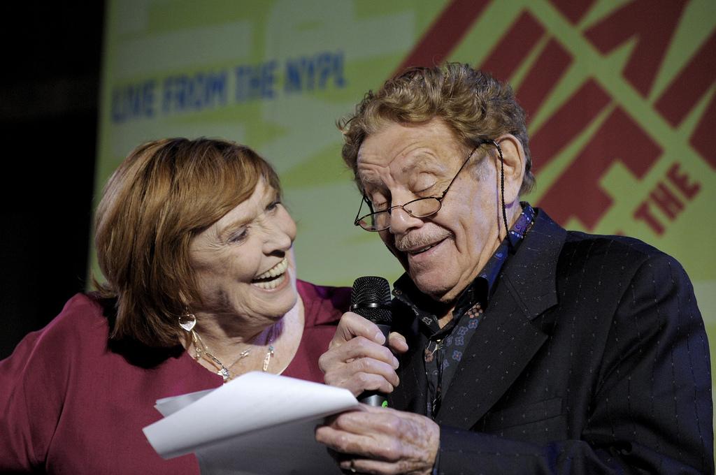 Anne Meara + Jerry Stiller