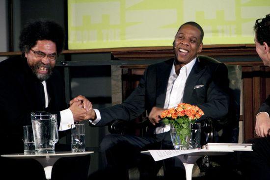 Jay Z + Cornell West + Paul Holdengräber