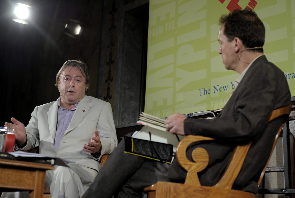 Christopher Hitchens + Paul Holdengräber