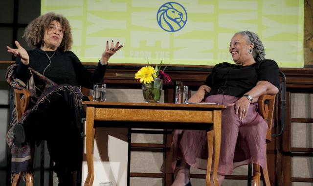 Angela Davis + Toni Morrison