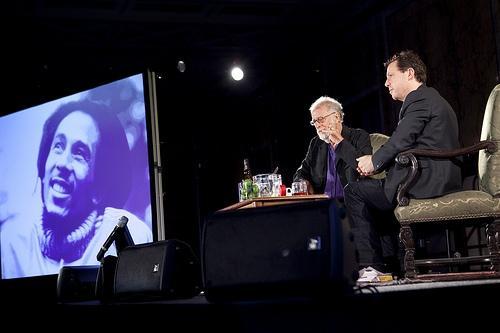 Werner Herzog + Paul Holdengraber