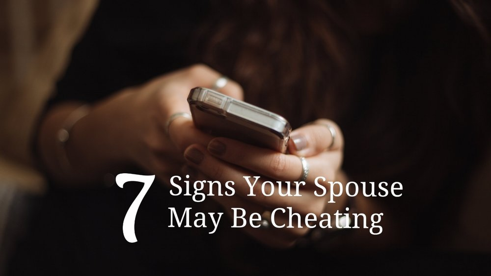 Is the cheating wife signs what your are that 10 Signs