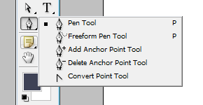 Photoshop Pen Tool menu | louisagallie.com