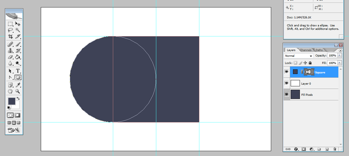 Combining shapes in Add mode | louisagallie.com