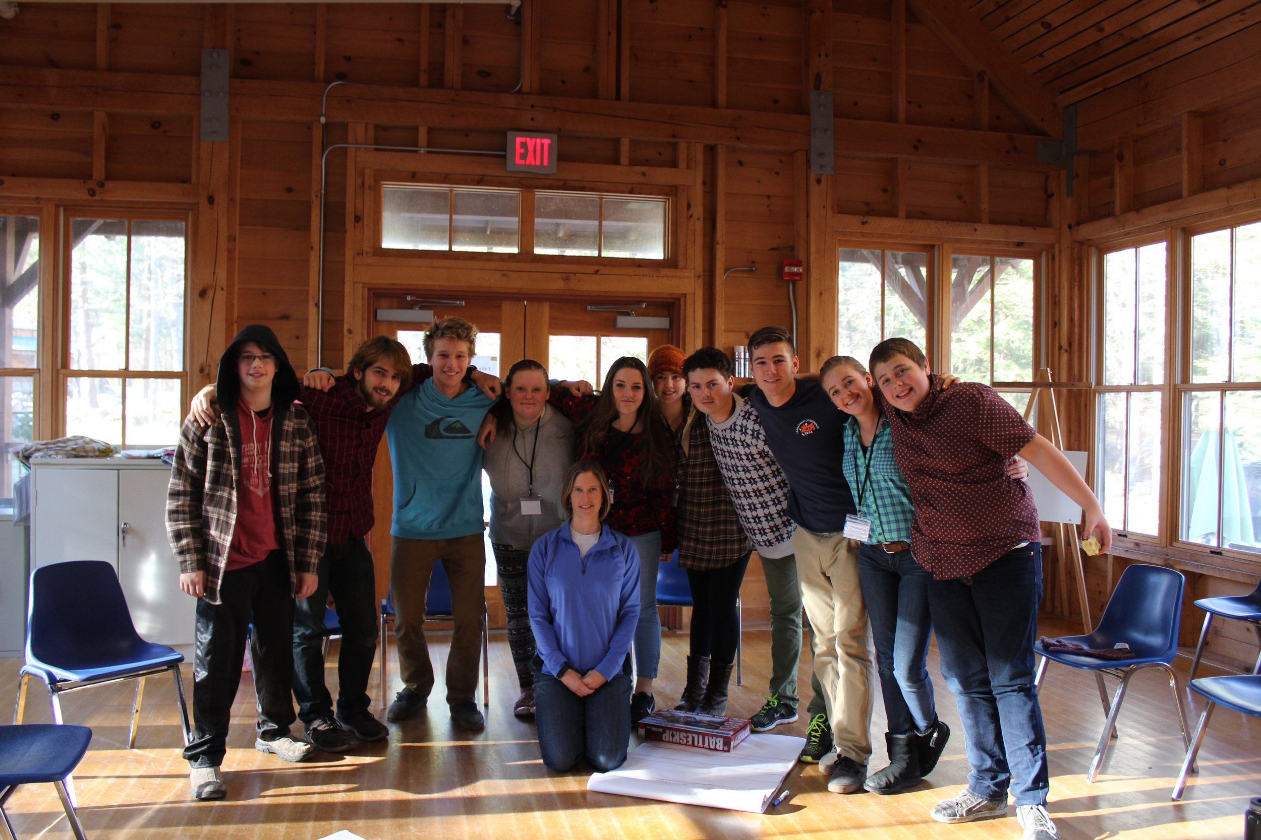 Profile School Youth Ledership Through Adventure Group at The annual High School Conference