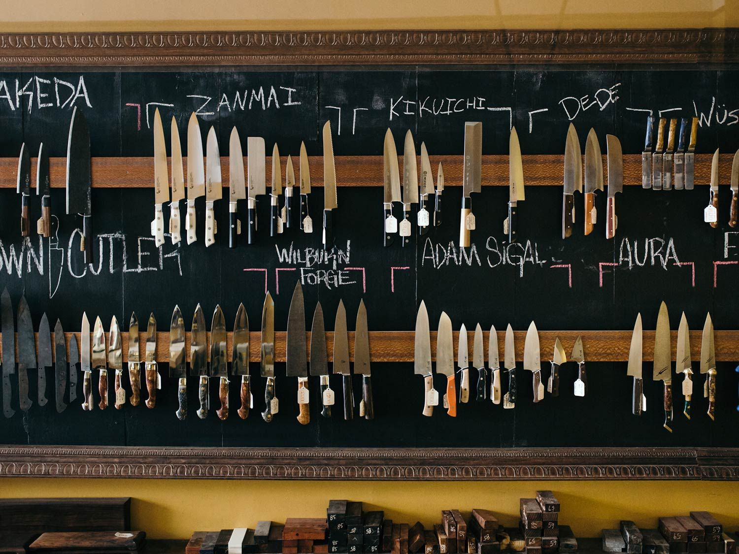 Step Inside One of The World's Most Beautiful Knife Shops   Saveur