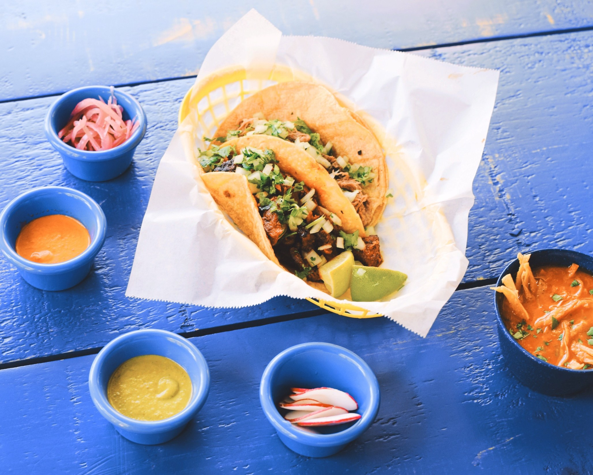 Embrace Los Angeles for the Hard-Shelled Taco Heaven It is   Bon Appétit