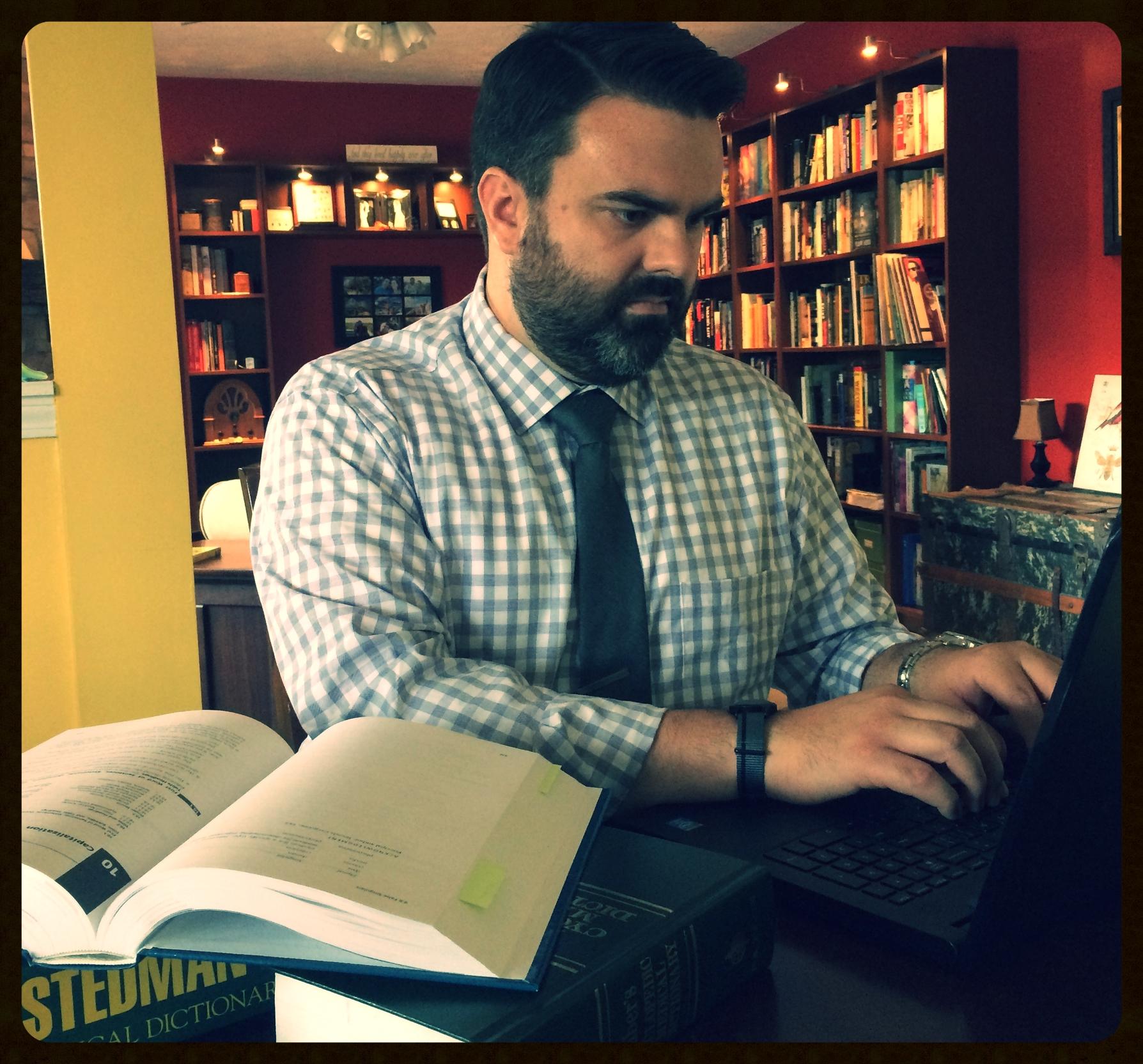 John editing medical manuscripts