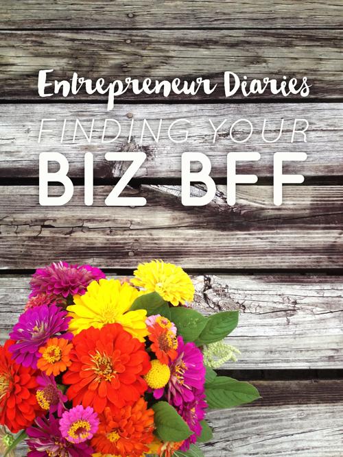 Entrepreneur Diaries: Finding Your Biz BFF  |  Think Creative