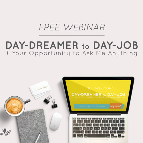 Day-Dreamer to Day-Job + Your Opportunity to Ask Me Anything