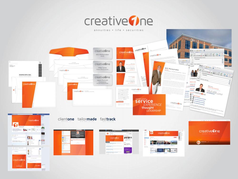 CreativeOne Complete Rebrand  |  Think Creative Collective