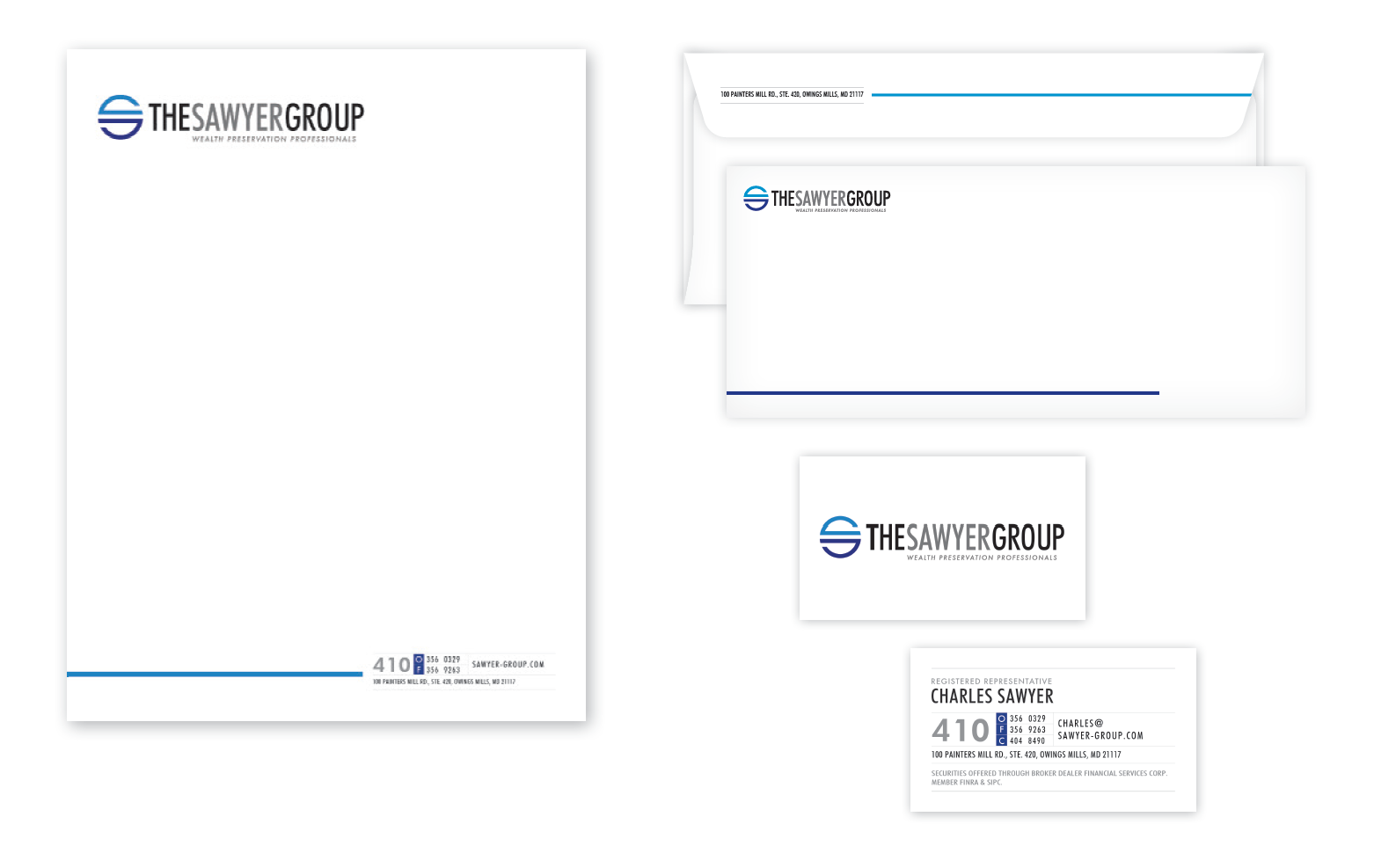 The Sawyer Group Identity After the Rebrand     Think Creative Collective