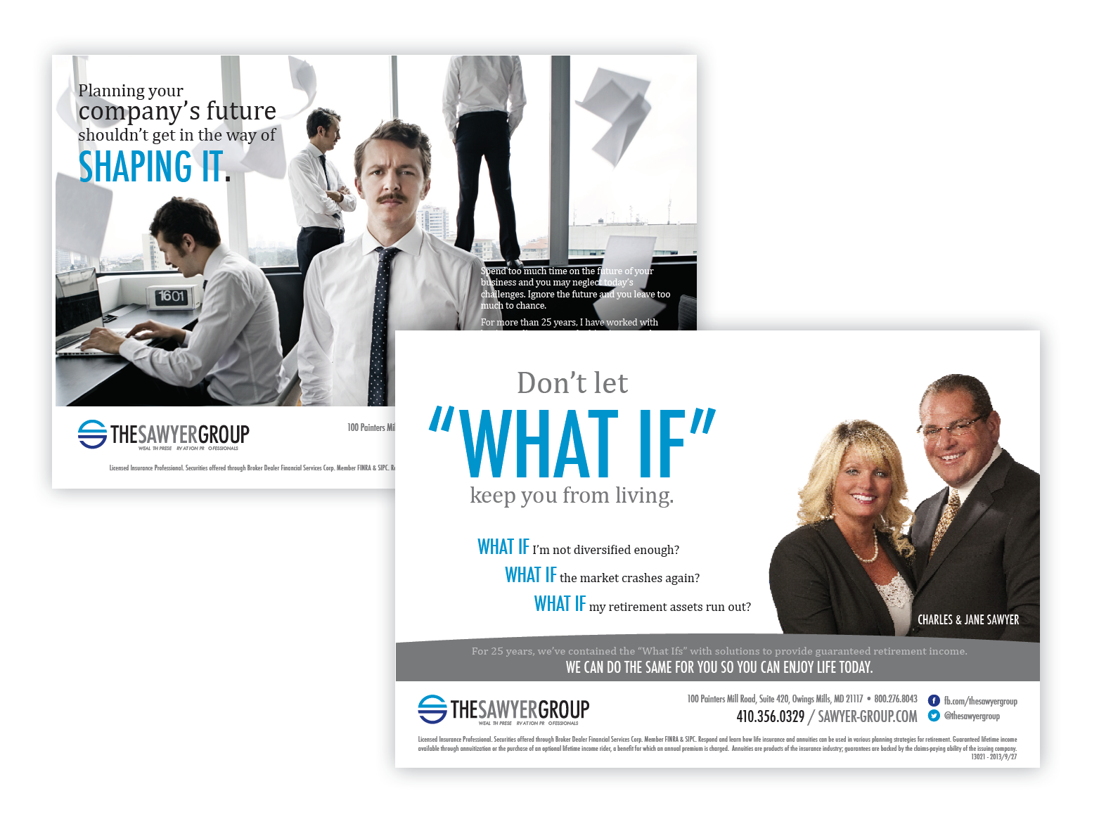 The Sawyer Group Advertising After the Rebrand     Think Creative Collective