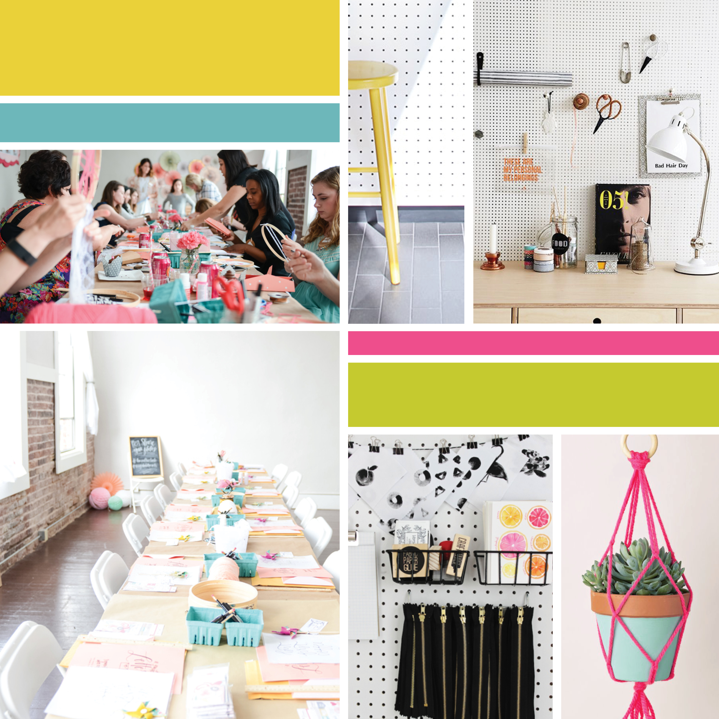 Opaque Inspiration Board  |  Think Creative Collective