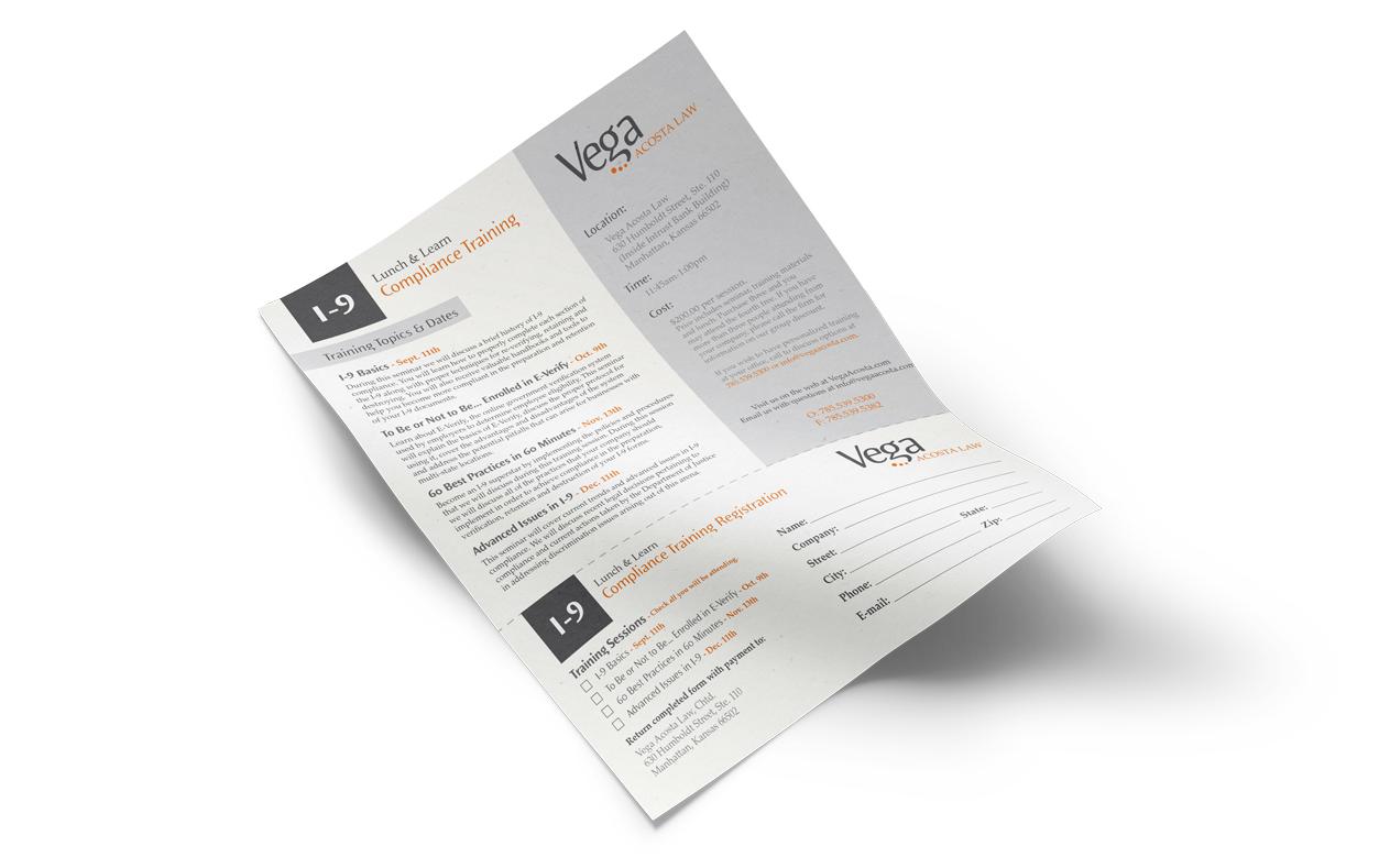 I-9 Compliance Mockup  |  Vega Acosta Law  |  Think Creative Collective
