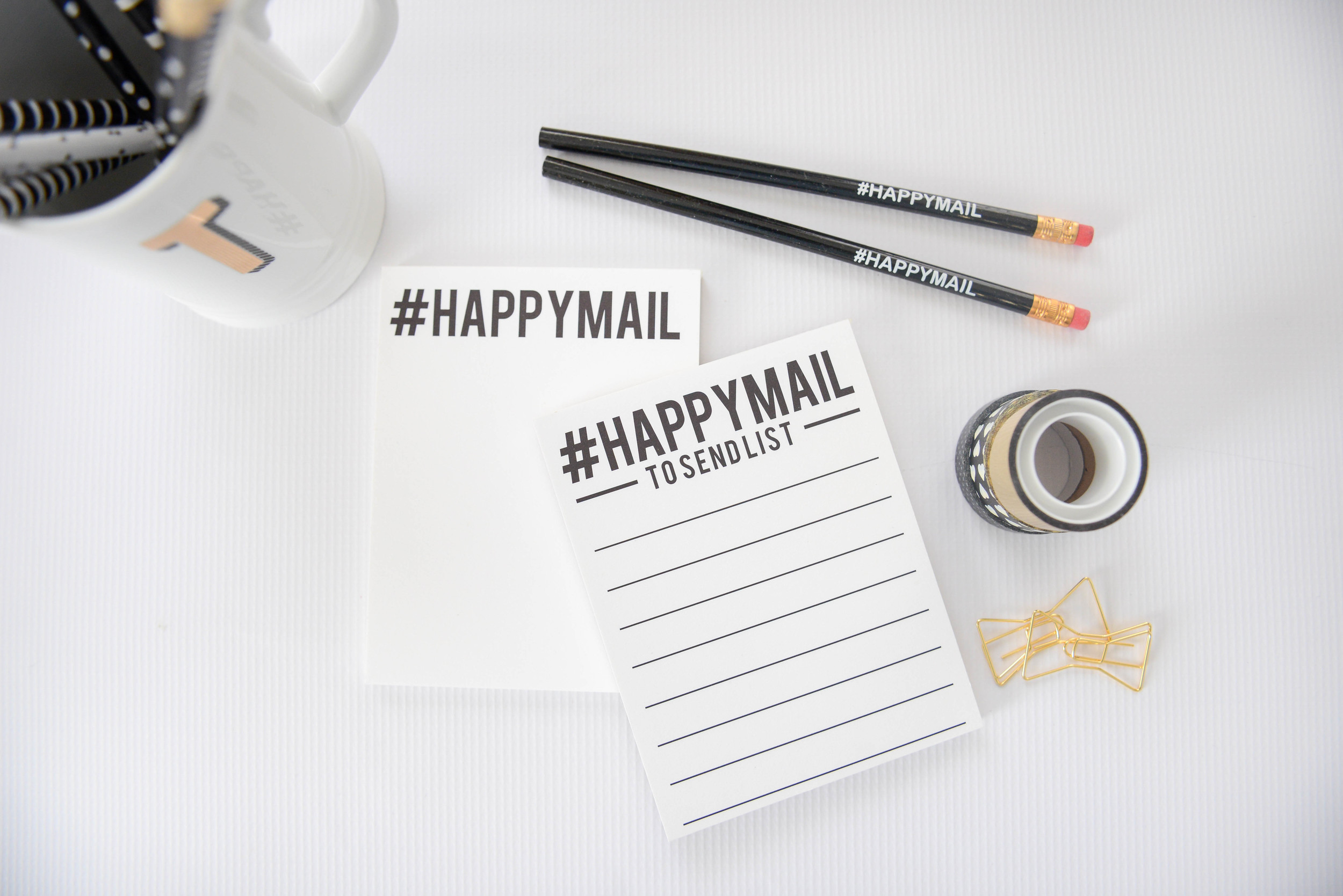 #HAPPYMAIL |  Product Photography |  Think Creative Collective