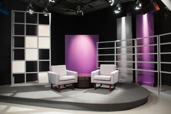 Studio A Final Set Design
