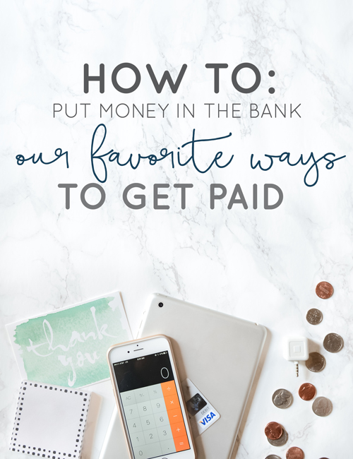Overwhelmed at all the ways you can bring in money for your small business? We've listed out our favorite and most popular options for you. | Think Creative Collective