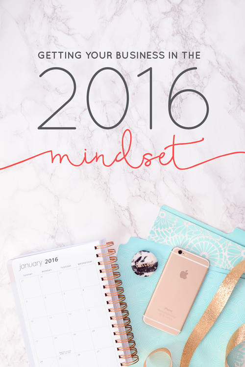 So before you totally checkout with chestnuts roasting and mistletoe smooching let's take a look at the best way we can get your business in the 2016 mindset.  |  Think Creative Collective